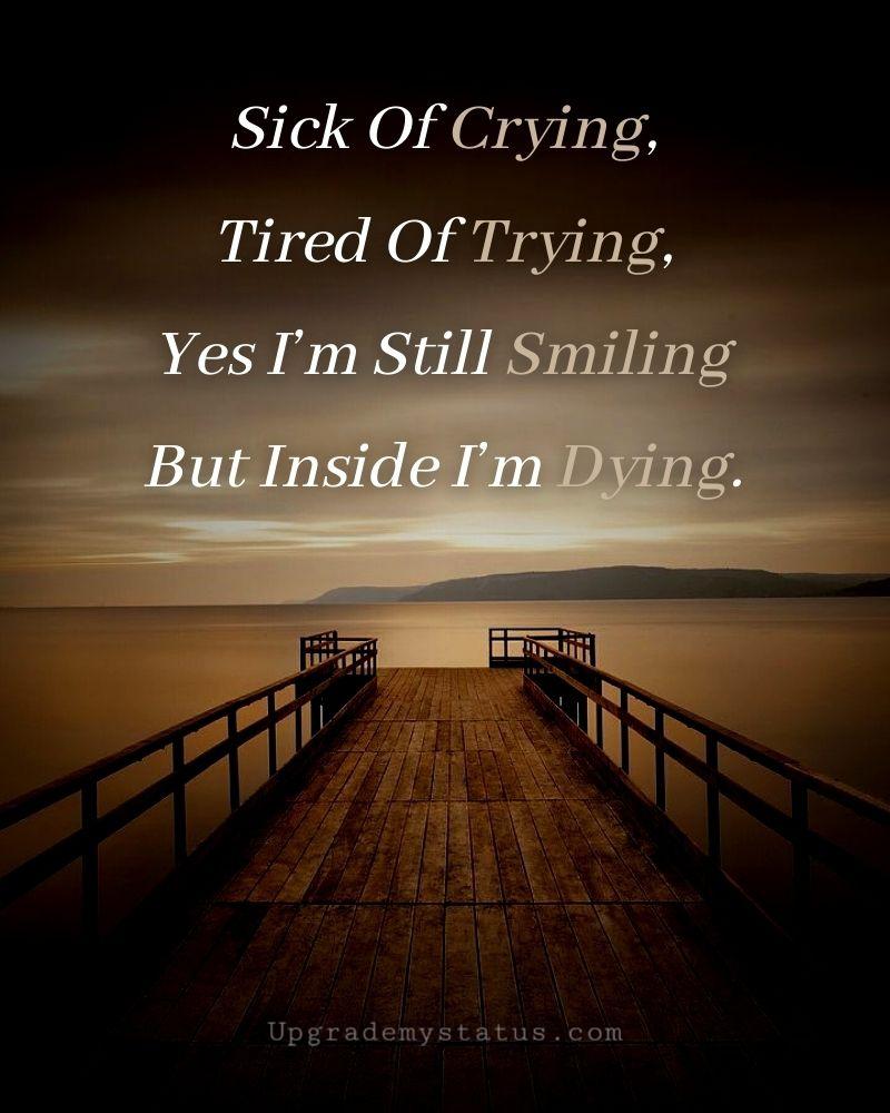 Lost Myself Status