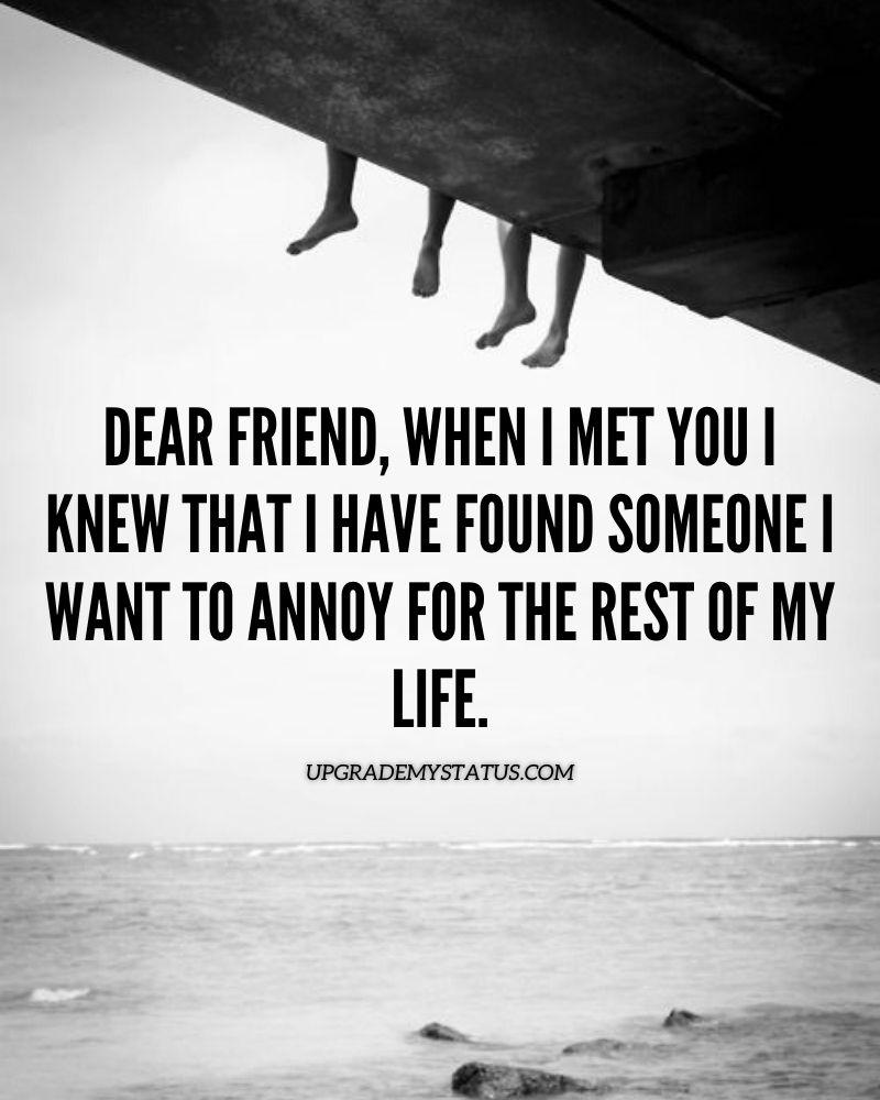true friendship status
