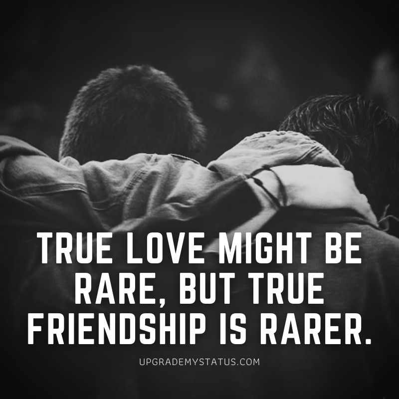 Friendship quotes for whatsapp status over a two boys walking