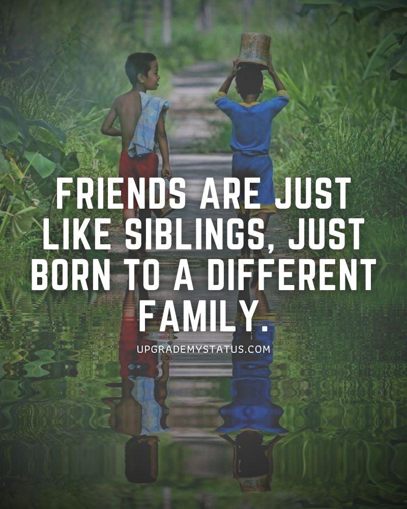 friendship one line status