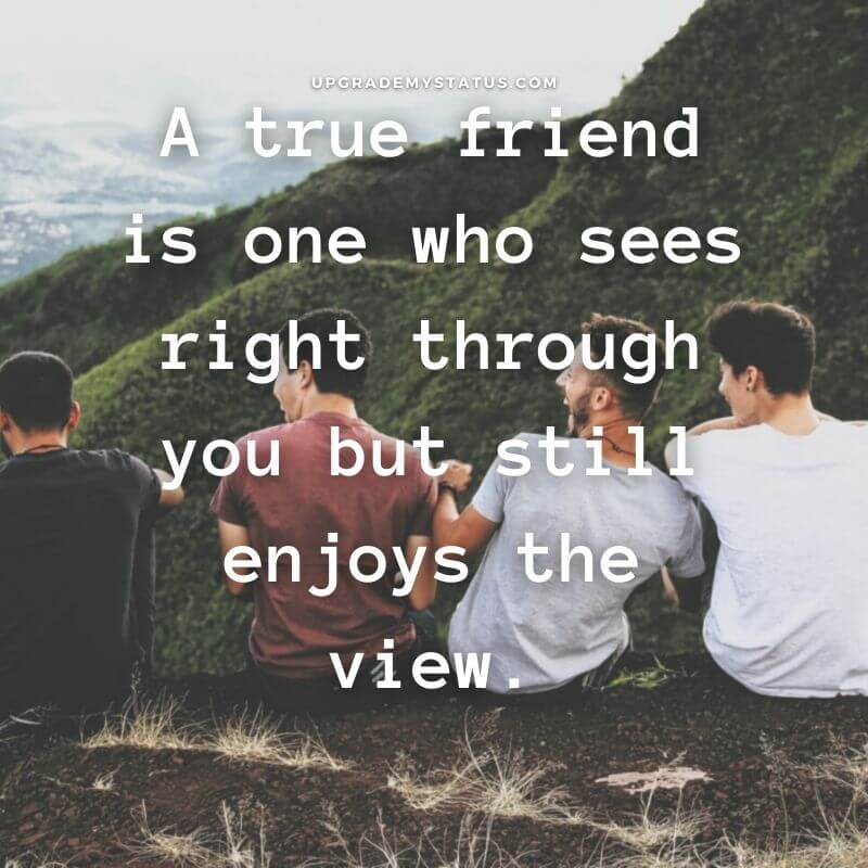 a group of friends are laughing over it some lines are written