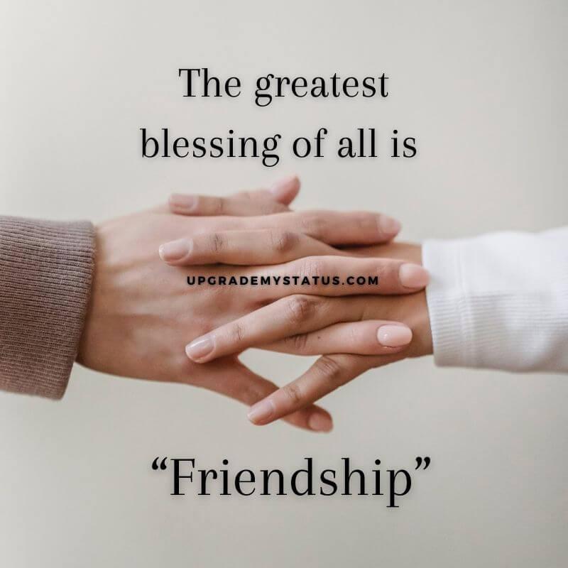 friendship missing status