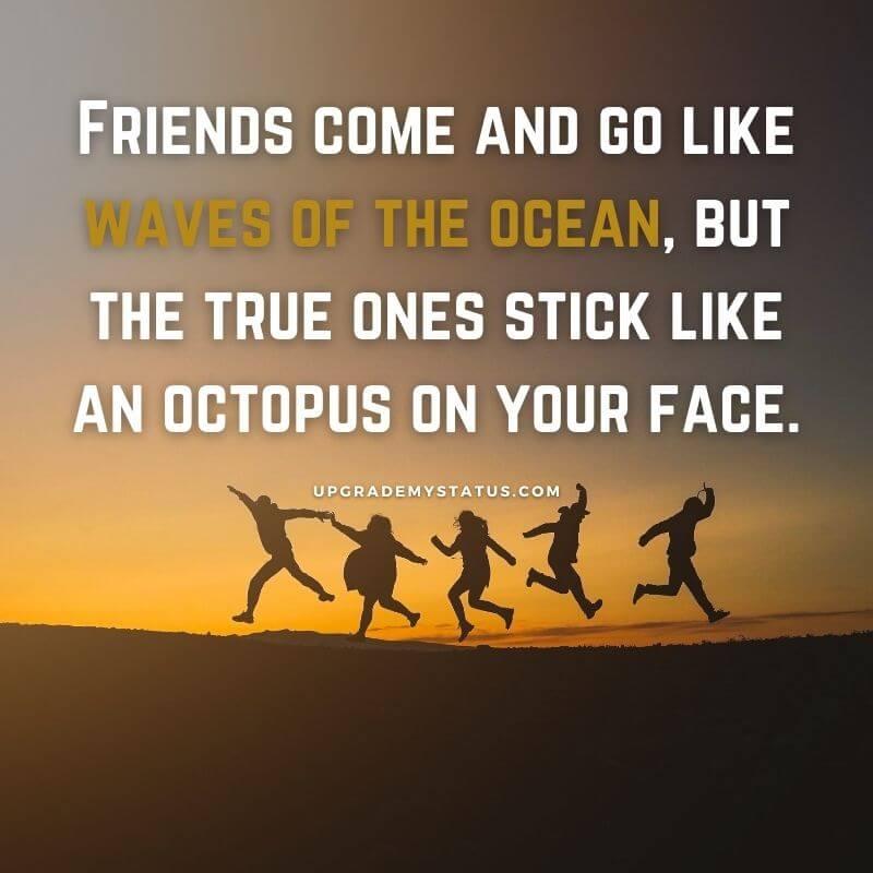 friendship goals captions
