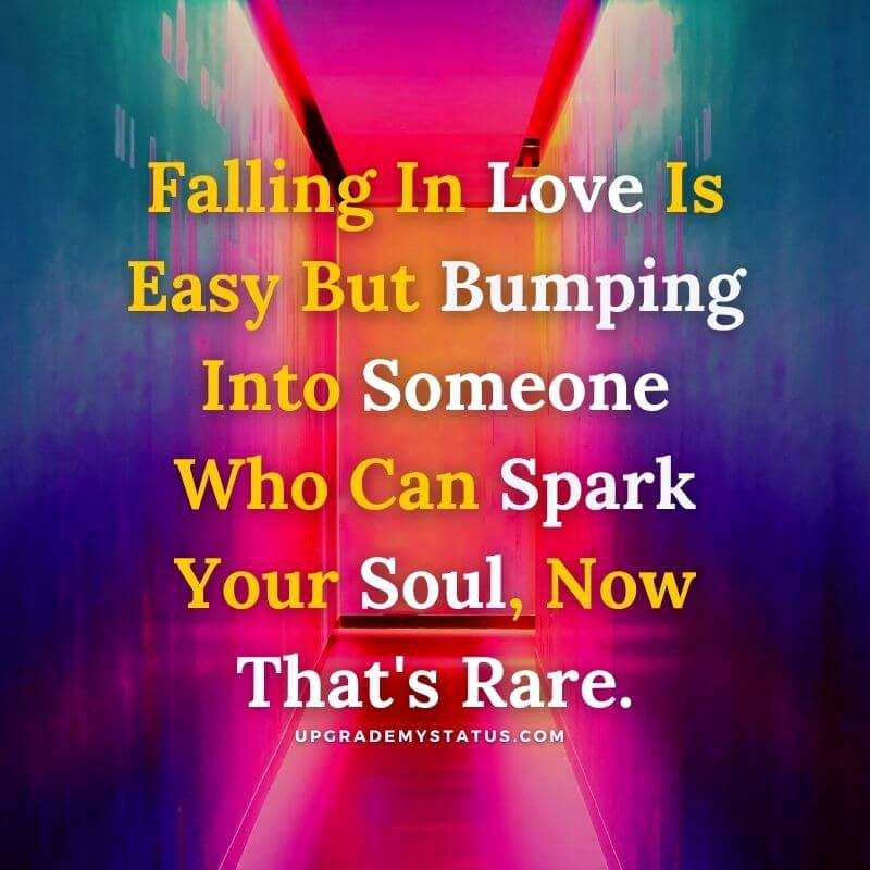 artist image over it romantic quote explaining what is love is written